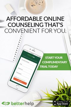Don't let your emotions get the best of you. Get peace of mind and perspective with BetterHelp – an affordable online counseling service that can help whenever you need. Experience easy, affordable, and private access to a licensed and certified therapist all from the comfort of your phone. Download BetterHelp and hit the refresh button on your life.
