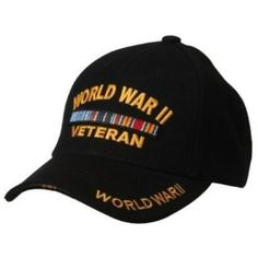 Military Cap-WORLD WAR II W39S60D $12.99