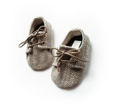 Charlie baby boys unisex sand or honey brown oxfords by lushbebe
