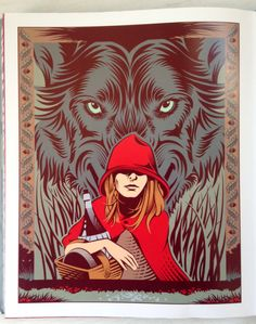 Grimm's Fairy Tales Book Illustrated by Yann Legendre | ILLUSTRATION AGE
