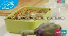 lasagne burrata e carciofi