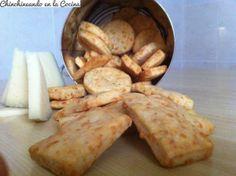 Galletas de queso hojaldradas y crujientes!!!!!!!!!!!