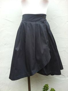 Kim Schalk's wrap ballet skirt in gray