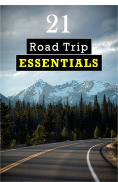 21 Road Trip Essentials You Can't Speed Off Without- Planning a road trip? Whether you're a first time road warrior or seasoned pro, keep reading for my picks on the 21 road trip essentials you can't leave home without! Travel Essentials List, Travel Necessities, Travel Tips, Car Essentials, Travel Packing, Travel Advice, Fun Travel, Travel Rewards, Budget Travel