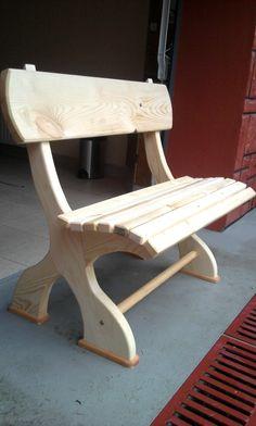 Diy Furniture Chair, Outdoor Furniture Plans, Diy Garden Furniture, Diy Furniture Projects, Woodworking Furniture, Rustic Furniture, Wood Log Crafts, Diy Wooden Projects, Workbench Plans Diy