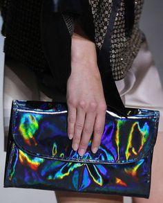 Holographic purse/Clutch holográfico.