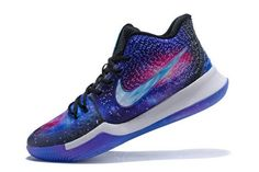 new style 9620c e964e Custom Nike Kyrie 3 Galaxy PE Mens Basketball Shoes Nike Kyrie 3,  Basketball Shoes Kobe