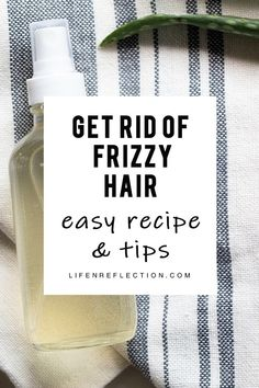 My Quest to Find the Quickest Solution to Frizzy Hair, DIY Anti Frizz Spray hair remedies l frizzy hair solutions l frizzy hair tips Anti Frizz Spray, Anti Frizz Hair, Diy Hair Serum, Diy Hair Mask, Hair Masks, Diy Mask, Thick Frizzy Hair, Frizzy Hair Styles, Thin Hair