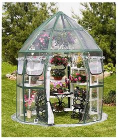 Features:  -Protects plants from wind, frost, snow, insects, birds, and other pests.  -Open bottom allows for placement over existing plants, beds, and containers.  -Improves climatic conditions in al