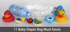 Getting confused what to keep & what not in your baby diaper bag? Check out our handy list of 11 diaper bag must-haves you shouldn't leave home without.