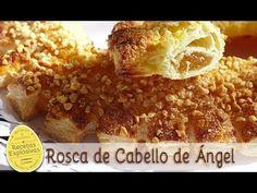 Rosca de Cabello de Angel o Tortell de cabell d'angel. Super fácil