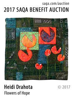 Art quilt by Heidi Drahota