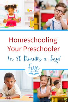 Thinking about homeschooling your preschooler? Here are 7 tips to teaching your little one in only 20 minutes a day while having fun! Preschool Learning Activities, Preschool At Home, Toddler Preschool, Homeschool Curriculum, Homeschooling Resources, Kinesthetic Learning, Kids And Parenting, Parenting Tips, Five In A Row