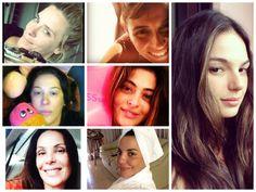 Selfies sem maquiagem: nova moda entre as famosas | #internet #RedesSociais #estilo #beleza #fama