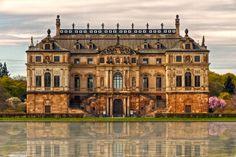 Sommerpalais....... The Großer Garten  Dresden