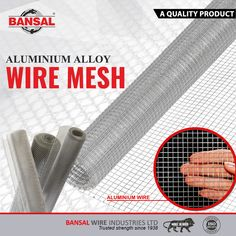 Low Carbon, High Carbon Steel, Stainless Steel Wire, Wire Mesh, Galvanized Steel, Aluminium Alloy, Metals, Strength, Unique