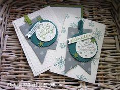 stampin up weihnachtskarte christmas card kommt herein geschneit alle jahre wieder christbaumfestival wünsche zum fest aus dem häuschen banner framelits feuerwerk dekoschablone sterne stars