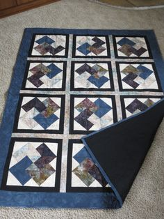 card trick quilt by Pat