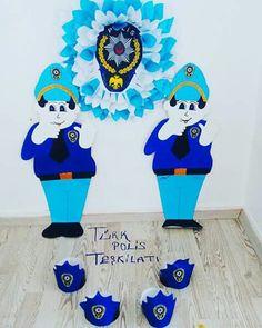 Polis Haftası Police, Community Helpers, Preschool Activities, Crafts For Kids, Education, Disney Characters, Children, Boys, Kids Arts And Crafts