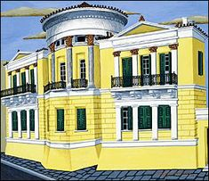 Old Greek, Greek Art, Greek Paintings, 2d Design, 10 Picture, Architecture Drawings, Neoclassical, Athens, Contemporary Art