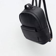 WIDE STRAP BACKPACK-Backpacks-Bags-WOMAN | ZARA United States