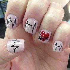 valentine by noni1703 #nail #nails #nailart