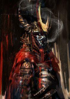 Samurai by *aditya777 on deviantART