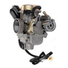 High Quality Chinese Scooter GY6 50cc Carburetor w// Electric Choke Jonway Tank