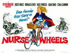 Nurse on Wheels 1963 British Poster Best Movie Posters, Classic Movie Posters, Cinema Posters, Film Posters, British Comedy Movies, Television Program, Vintage Ads, Poster Vintage, Good Movies