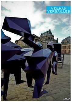 Xavier Veilhan ::  Versailles - vernissage