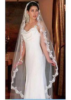 Belle Voile de mariage correspondante à votre robe élégante pour la mariée magnifique