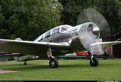 Spartan 7W Executive aircraft picture Produced 1936-1940.  34 were made for around 25,000 each....