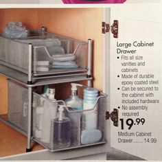 Organizers From Bed Bath And Beyond Worked Great For Those Pantry Shelves That Are Too High And