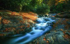 erdei képek, folyó háttérképek, természetfotók, Rocks háttérrel ...