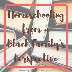 What does home education look like for a Black family?