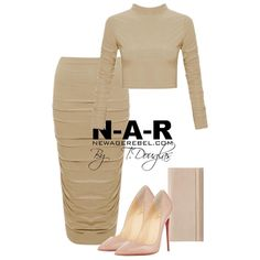 Nude Selection  Deta Ruche Two Piece -Nude NewAgeRebel.com #newagerebel #styleconcepts #ootd