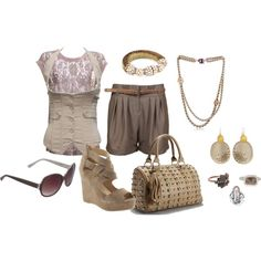 """""""Rose Taupe"""" by bethherrmann on Polyvore"""