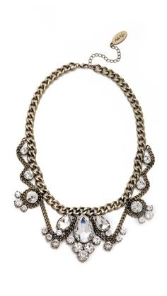 Adia Kibur Crystal Choker Necklace #crystal #choker #necklacek...I own an almost replica of this, birthday gift from my nephew, he has superb taste.