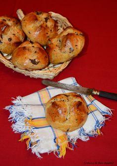 Breakfast in bed - Petit-dej au lit : Briochette aux pépites de chocolat - Chocolate chip brioche
