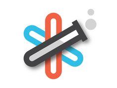Logo Design: Lab Tubes