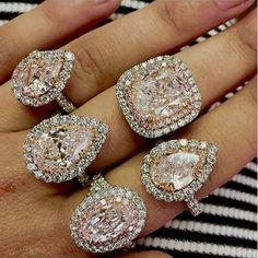 """PINK IS THE NEW POWER DIAMOND"" says Gall Raiman, diamond expert, master gemologist."
