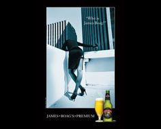 "I loved the ""Who is James Boag?"" champaign when it first started. It always bothered me that after the initial images it all seemed to go awry.  Turns out that the initial images where done by the great Helmut Newton, who passed away in 2004.  Goes to show, nothing is ever as good as the original."