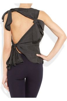Love the back of this Vivienne Westwood top