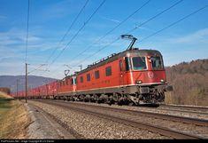 Location Map, Photo Location, Electric Locomotive, Switzerland, Trains, Image, Train