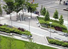 Mount Royal Village West Project 16 Ave SW @ 8 Street Join us Thursday, June 27 & Saturday, June (at the existing Mount Royal Village by Tomkins Park) Please come join us for an open house on an exciting new project coming to the Beltline. Landscape Plane, Urban Landscape, Commercial Landscaping, Modern Landscaping, Design D'espace Public, Design Plaza, Urban Park, Landscape Architecture Design, Parking Design