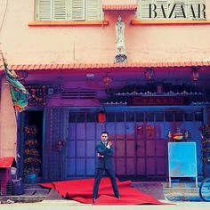 In this month's issue of BAZAAR Man we're putting the spotlight on the screen kings of Singapore. Next up we talk to international favourite @fir_rahman. On the defining moment of his career: Without a doubt playing Aiman in 'The Apprentice'  not only is it my first film I got to play the lead it premiered at Cannes and got me a nomination for Best Newcomer at the Asian Film Awards. The first time I saw the movie I cried. It was surreal and incredibly humbling and the eight-minute standing…