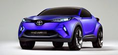 Toyota C-HR Concept http://autokm0.tv/