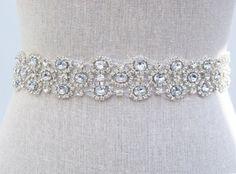 Kenzie Bridal Belt - SparkleSM Bridal Sashes