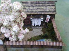 samurai house front door