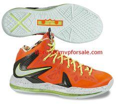 an aesthetic appreciation of the Nike LeBron X Elite Total Crimson  Fiberglass Black Volt 579827 800 c4b1c785286b